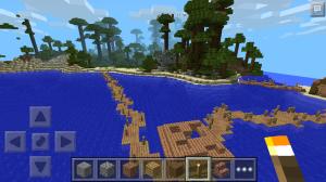 тропическая карта для minecraft pe