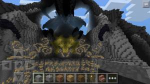 дракон из скайрим в майнкрафт