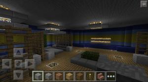 карта майнкрафт пе дом под водой 2