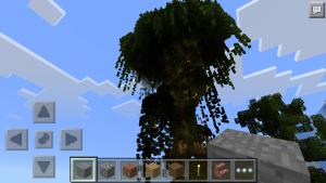 дом на дереве манкрафт